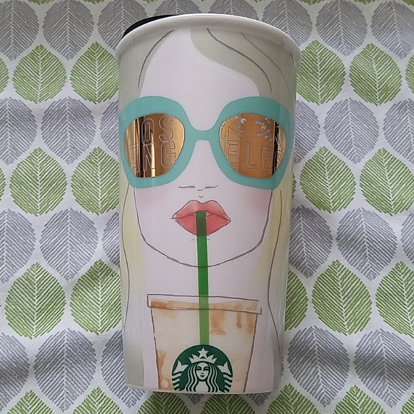 New w/tags Starbuck Los Angeles Ceramic Cup 12oz